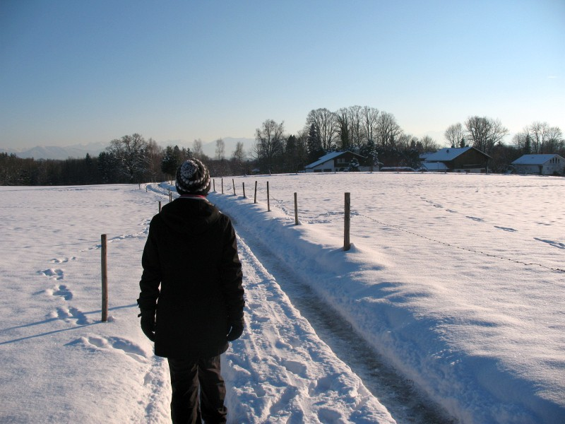 Winterwanderung in Ambach